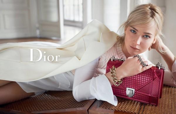 Дженнифер Лоуренс в весенне-летней кампании Dior
