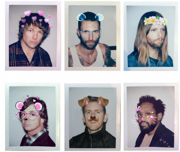 Музыканты примерили фильтры Snapchat