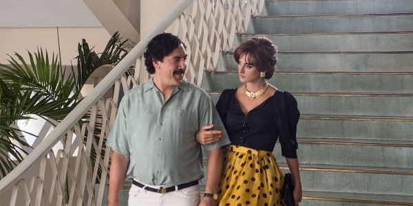 В кино выходит фильм о Пабло Эскобаре.