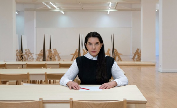 Марина Абрамович прочитает лекцию Тело человека/Публика как тело.
