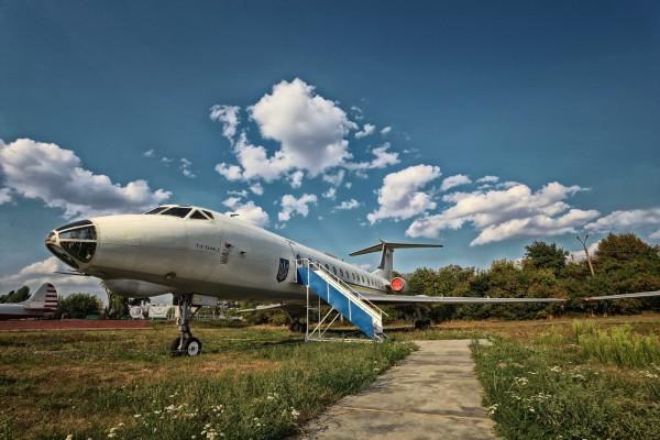 Киевский Музей авиации был открыт в 2003 году