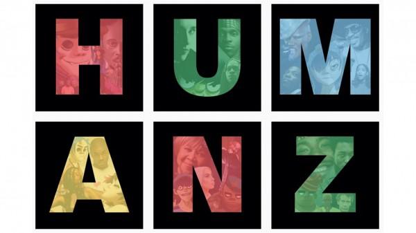 Обложка нового альбома Gorillaz Humanz