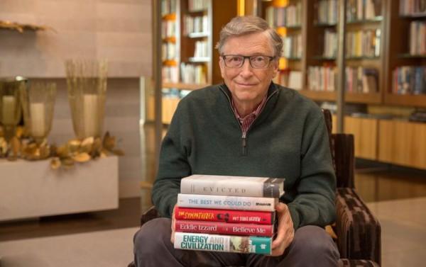 Билл Гейтс рассказал о любимых книгах