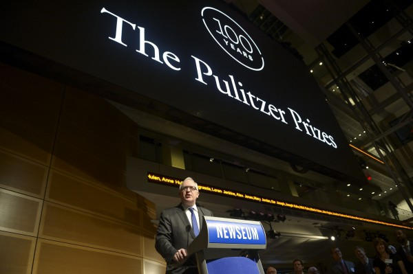 Церемония вручения Pulitzer Prizes прошла 18 апреля в Нью-Йорке