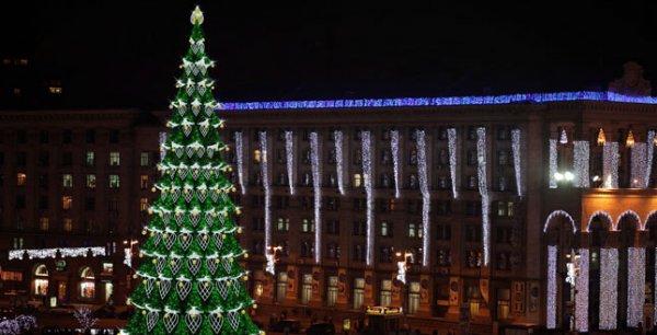 Проект новогодней елки 2013 года