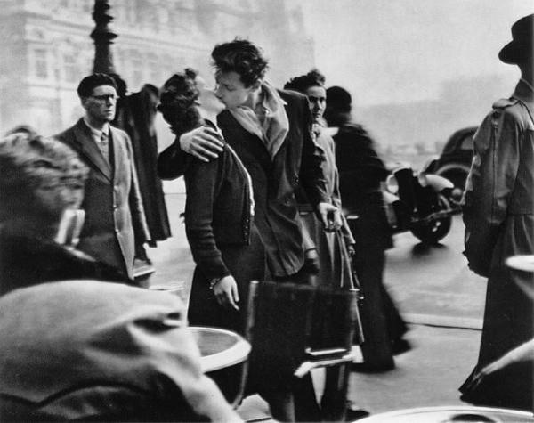 Робер Дуано, Поцелуй у Отель-де-Виль, 1950