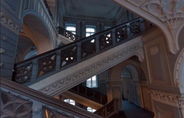 Внутри первого корпуса КПИ