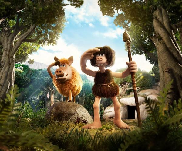 В новом мультике Первый человек история происходит в доисторические времена.