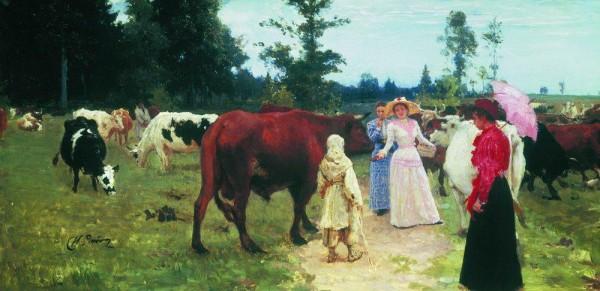 Выставка картин Ильи Репина открывается в Киеве 16 апреля