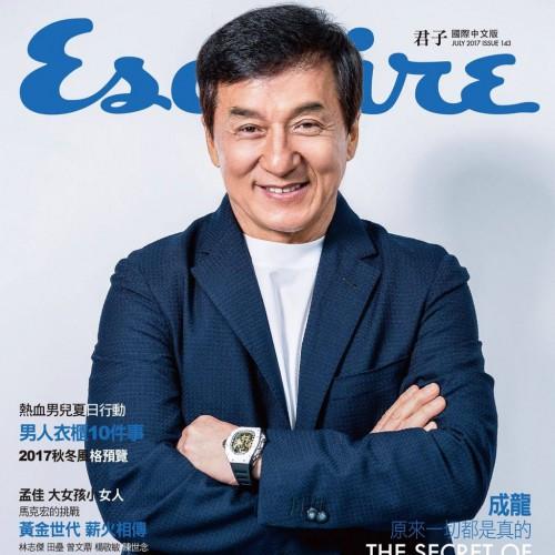 Актер появился в фотосессии для нового выпуска журнала Esquire Тайвань.
