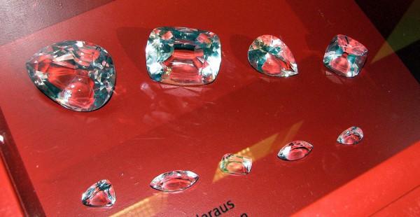 Самые крупные камни, которые получились в результате раскола Куллинана