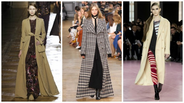 Слева направо: Dries van Noten, Chloe, Christian Dior