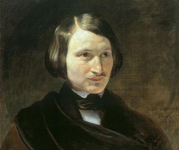 Портрет Гоголя кисти Ф.Моллера