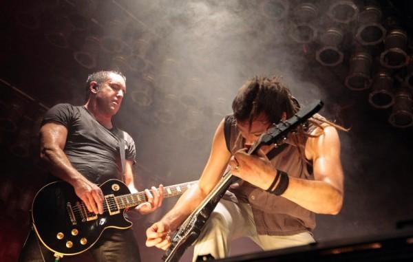 Американская команда Nine Inch Nails