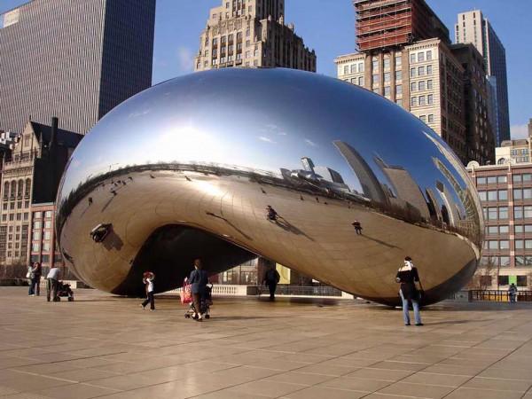 Работа Аниша Капура в Чикаго