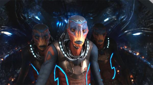 Новый фильм Люка Бессона - Валериан и город тысячи планет.