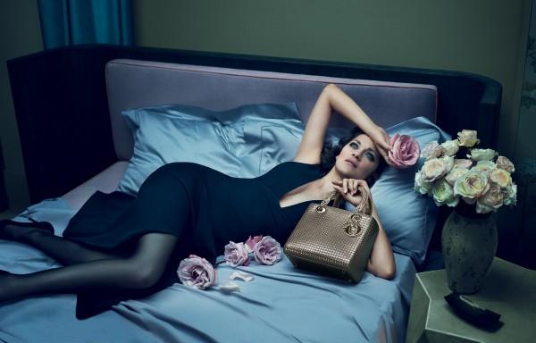 Марион Котийяр сотрудничает с Dior с 2008 года