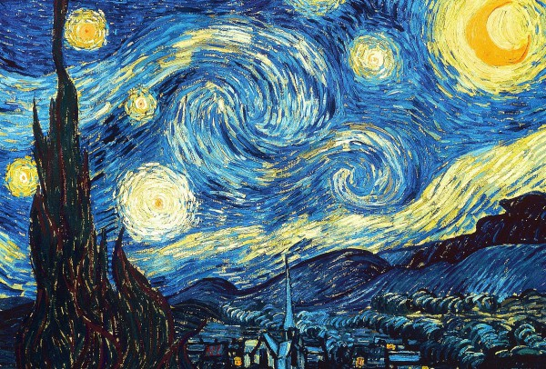 Картина Винсента Ван Гога Звездная ночь (1889)