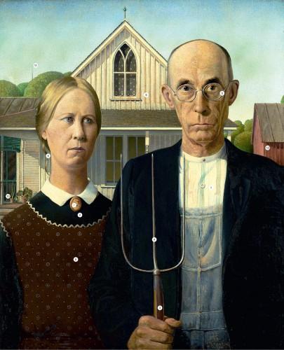 Грант Вуд, Американская готика