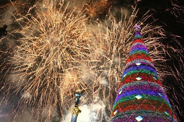 Как празднование нового года в кургане
