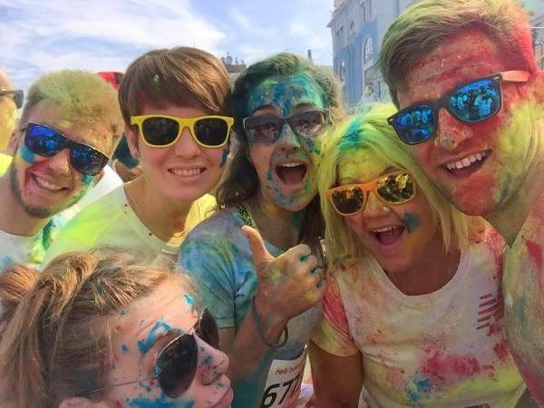 В Киеве состоялся третий Color Run