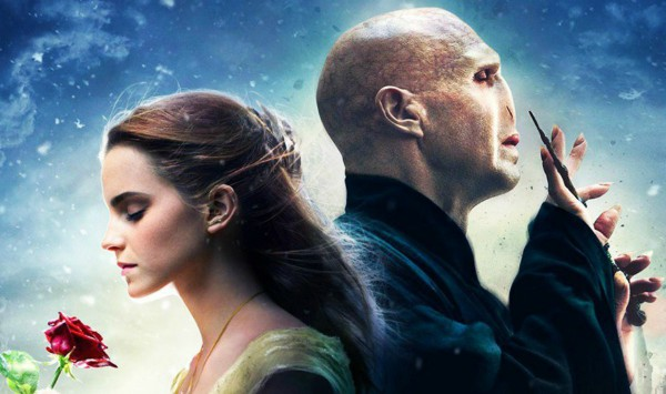 Так выглядел бы постер к ленте, в которой Гермиона влюбилась в лорда Волан-де-Морта