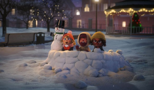 Рождественские рекламные ролики призывают уже подумать о подарках