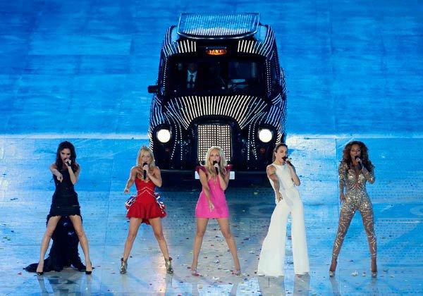 Spice Girls на закрытии Олимпийских игр в Лондоне