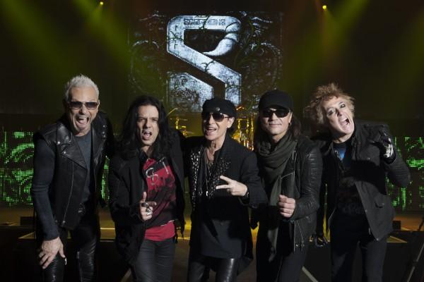 Легендарные Scorpions посетят столицу 11 ноября.