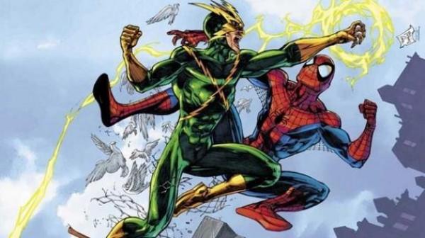 Электро, главный злодей и противник Человека-паука
