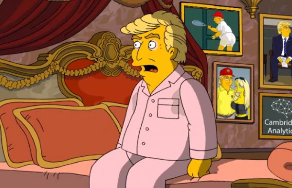 Дональд Трамп в сериале Симпсоны