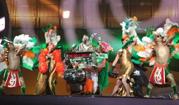 Кукла Dustin the Turkey представляла Ирландию в 2008 году