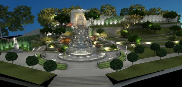 Проект парка им. Гейдара Алиева