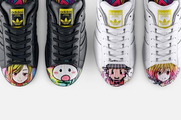 Новая коллекция обуви Adidas Originals Superstar-Supershell