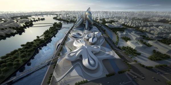 Новый арт-комплекс будет построен по проекту Захи Хадид