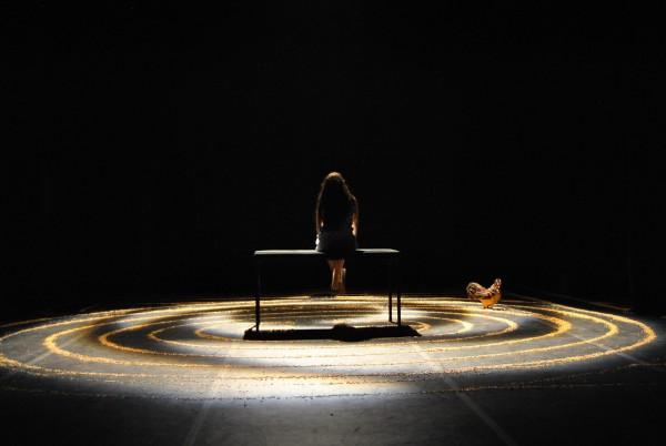 Французская весна 2013: фрагмент спектакля Крик петуха