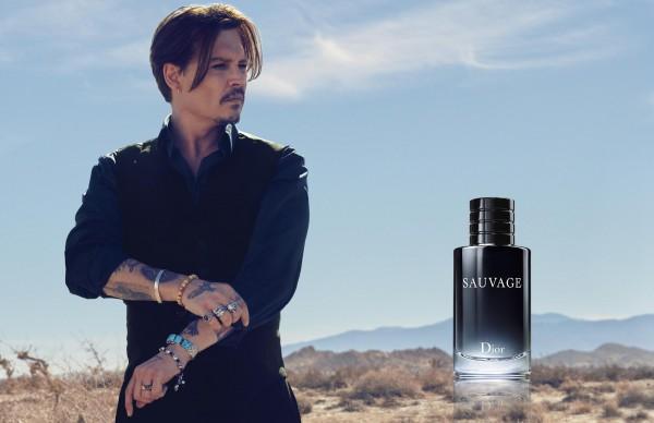 Джонни Депп в рекламе Dior Sauvage