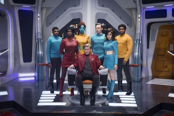 Первая серия четвертого сезона - отсылка к Звездному пути