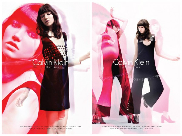 Грэйс Хартцель в рекламной кампании Calvin Klein