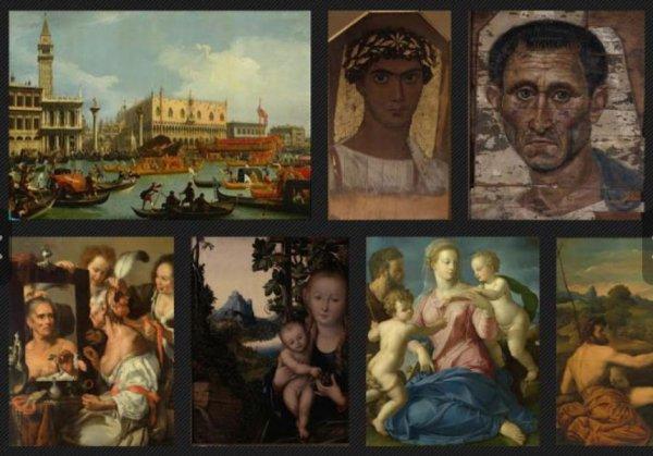 Страница Государственного музея изобразительных искусств им. А.С. Пушкина на сайте Google Art Project