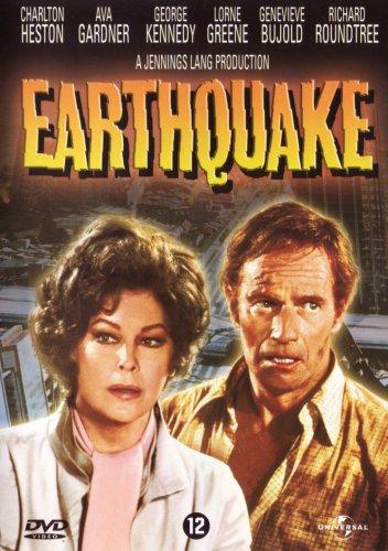 Афиша к фильму Землетрясение 1974 г. с Авой Гарднер в главной роли