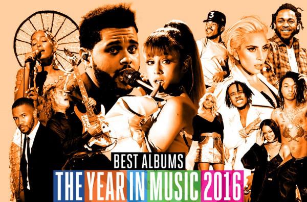 Billboard назвал лучшие альбомы 2016 года