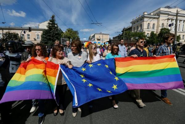 На выходных в Киеве пройдет Марш Равенства.