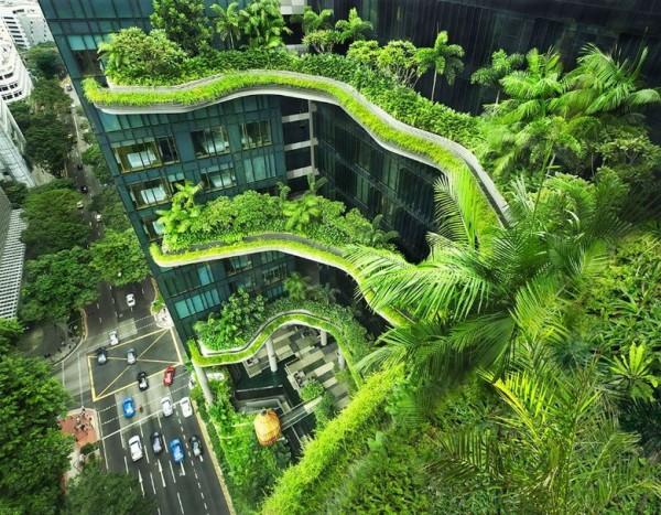Отель Park Royal, Архитектурная студия WOHA Сингапур