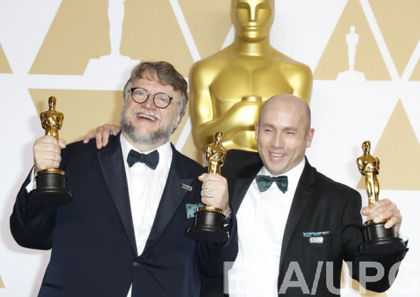 Гильермо дель Торо получил четыре награды за фильм Форма воды