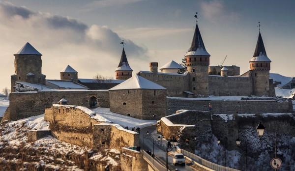 Каменец-Подольский и его древний замок