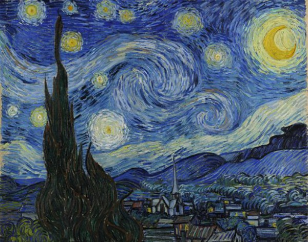 Звездная ночь Ван Гога - самая популярная картина проекта Google Art