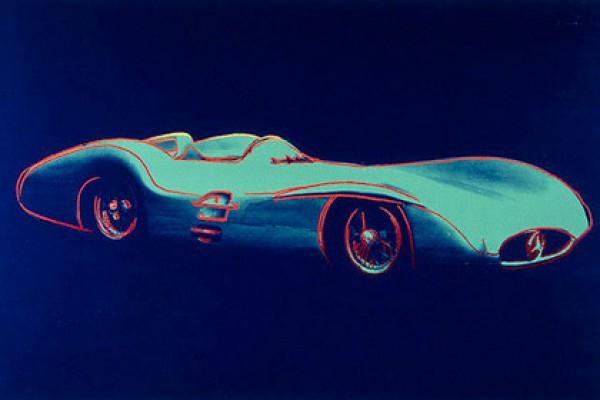 Энди Уорхол. Mercedes-Benz W 196 R Grand Prix Car
