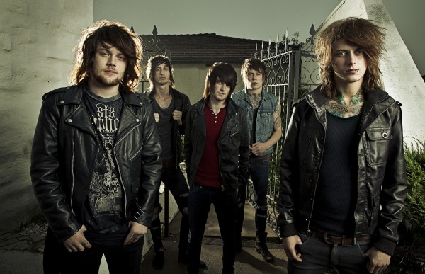 Asking Alexandria с Дэнни Уорснопом