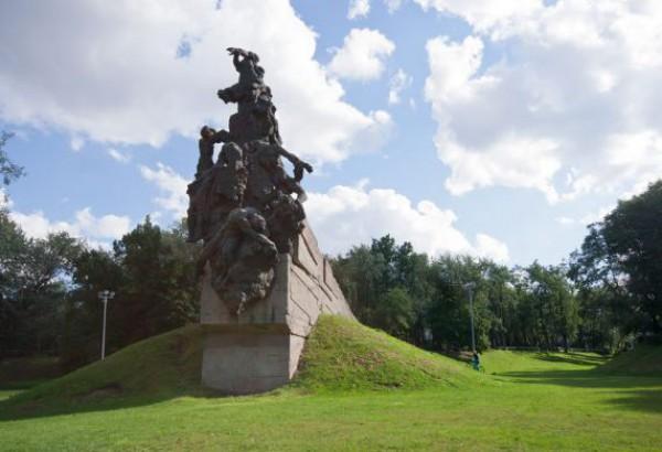 Памятник жертвам Холокоста в Бабьем яру